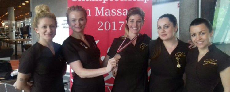 CityLux Massage won Bronze at The World Massage Championship